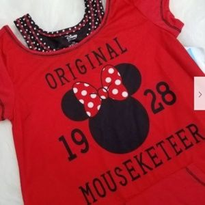 Minnie Sleepshirt Sz 7/8 Red C1